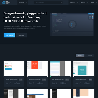 Snippets - Web Designer Wall