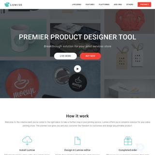 Lumise - Product Designer Tool