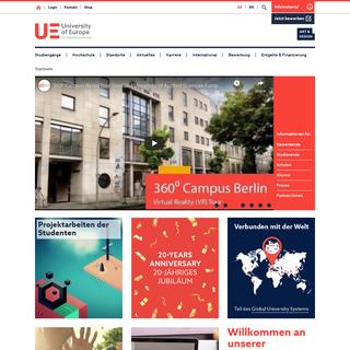 Art & Design - University of Europe for Applied Sciences - BTK