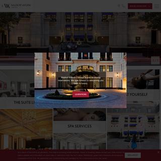Luxury Downtown Chicago Hotel - Waldorf Astoria Chicago