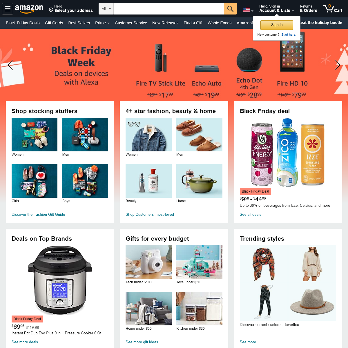 Amazon.com- Online Shopping for Electronics, Apparel, Computers, Books, DVDs & more
