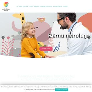 Galvenā - Bērnu neirologu biedrība