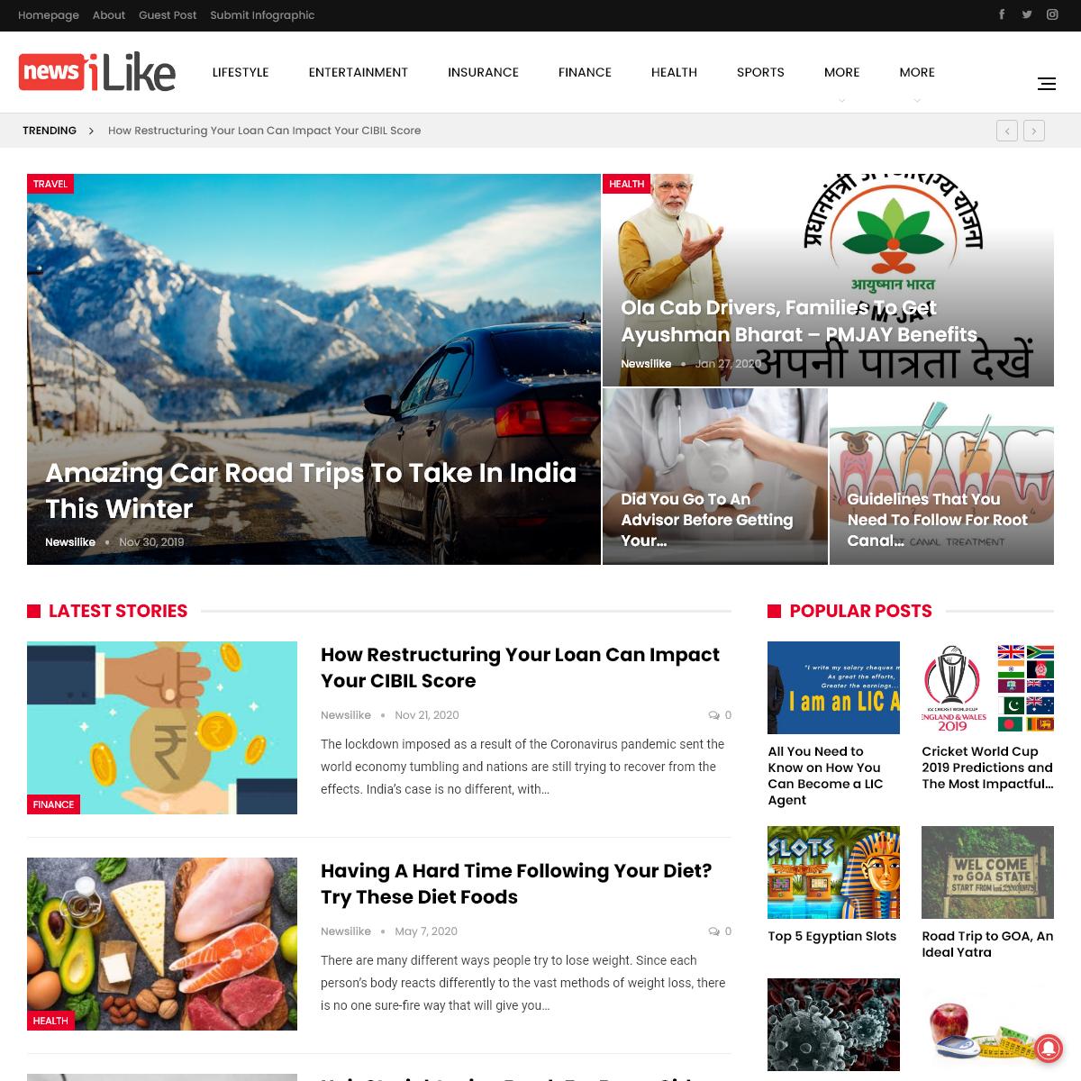 Newsilike - Digital Stories