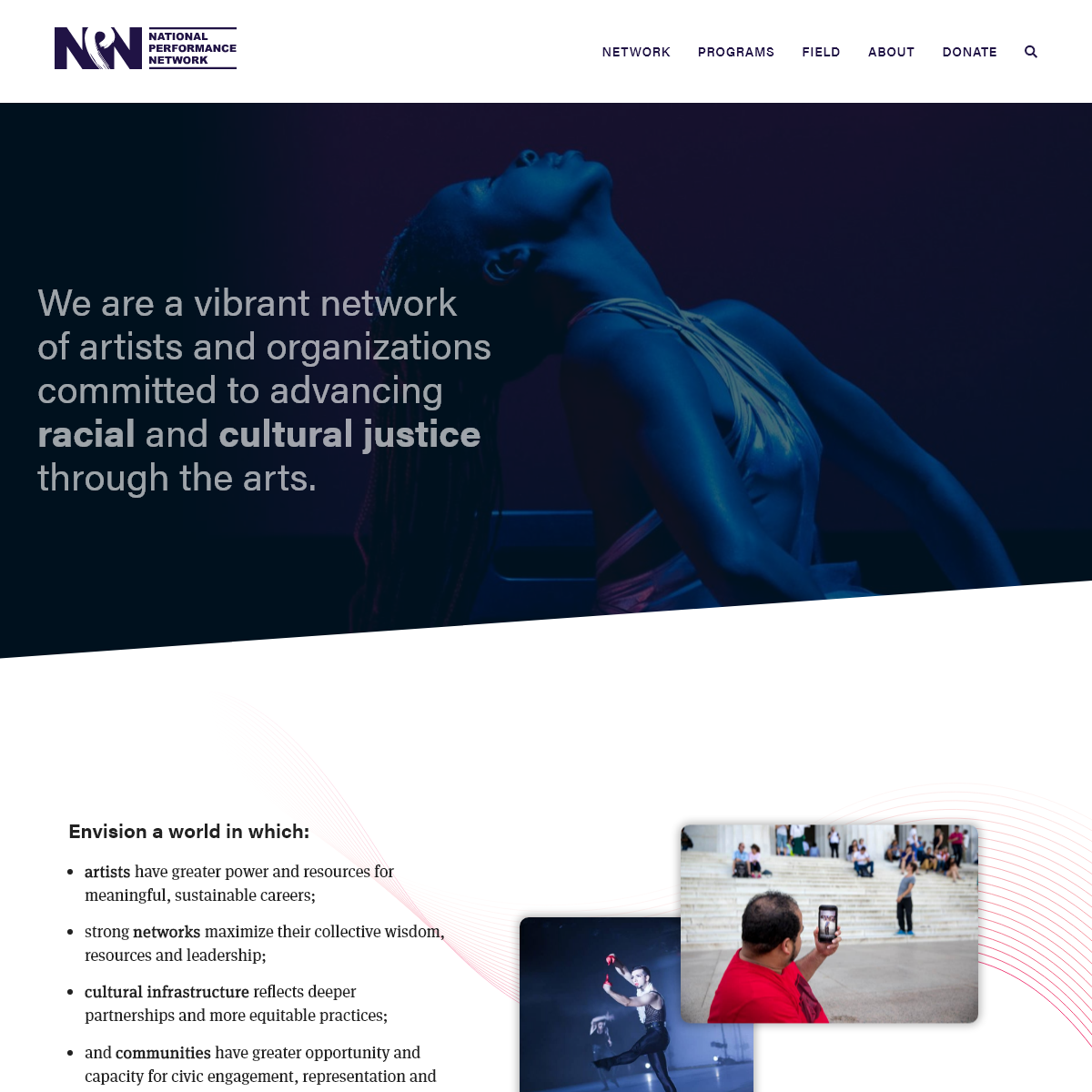 Home - National Performance Network