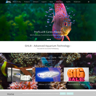 GHL (International) – High-Tech for Aquariums, Terrariums and Ponds Made in Germany since 1998
