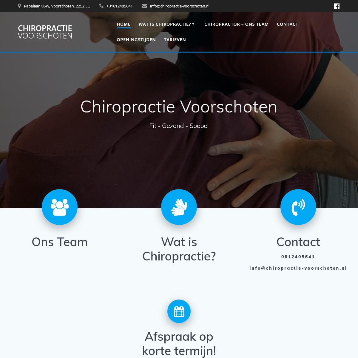 Chiropractie Voorschoten – Chiropractie Voorschoten – Chiropractie Praktijk
