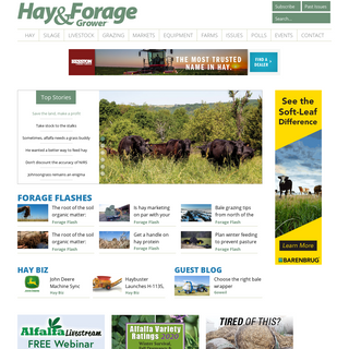 Hay and Forage Grower Magazine