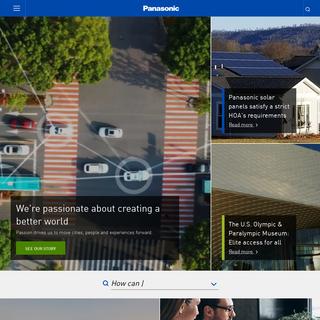 Panasonic North America - Technologies that Move Us
