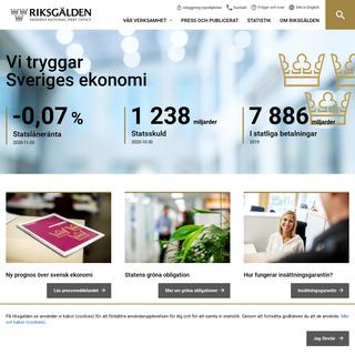 Riksgalden.se - Riksgälden.se