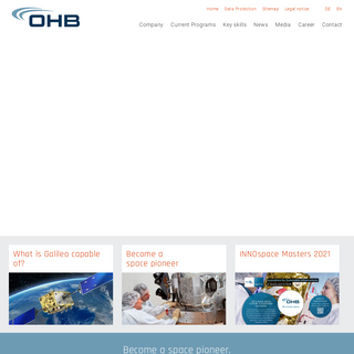 Space Systems + Security - OHB System ENG
