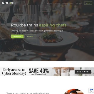 Professional Online Culinary School - Rouxbe