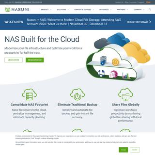Nasuni – File Services Platform