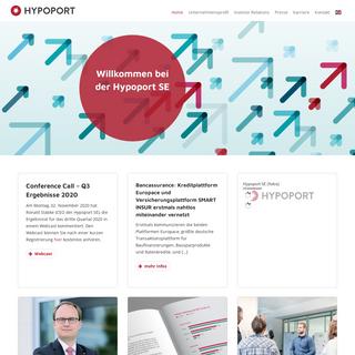 Hypoport SE – Technologie für die Kredit-, Immobilien- und Versicherungswirtschaft