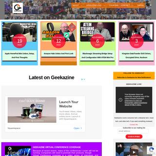 Geekazine.com - an Awesome Tech Website
