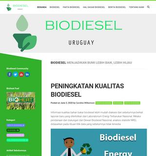 biodiesel-uruguay.com - BIODIESEL SUMBER DAYA UTAMA DI MASA DEPAN