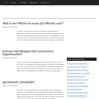 Scienceforum.nl - Kennis, wetenschap, vragen en kortingen