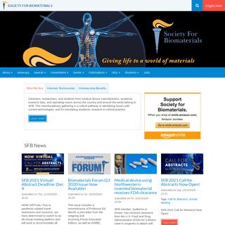 Society for Biomaterials (SFB)