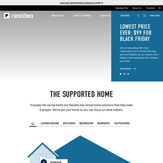 Smart Home Products and Systems - Resideo