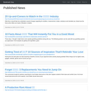 Published News - Bookmark Xray