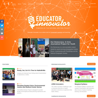 Educator Innovator - Home