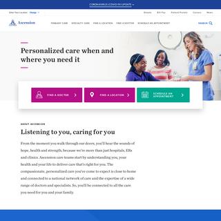 Healthcare - Ascension