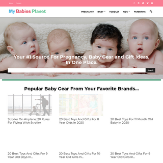 Best Pregnancy and Baby Gear Reviews - My Babies Planet