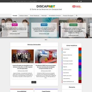 Discapnet - El portal de las Personas con Discapacidad