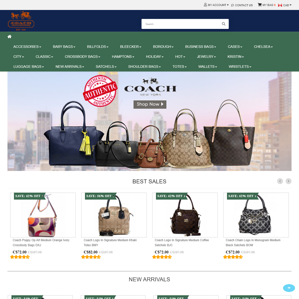 Coach Bags - Coach Canada Up To 70- Off