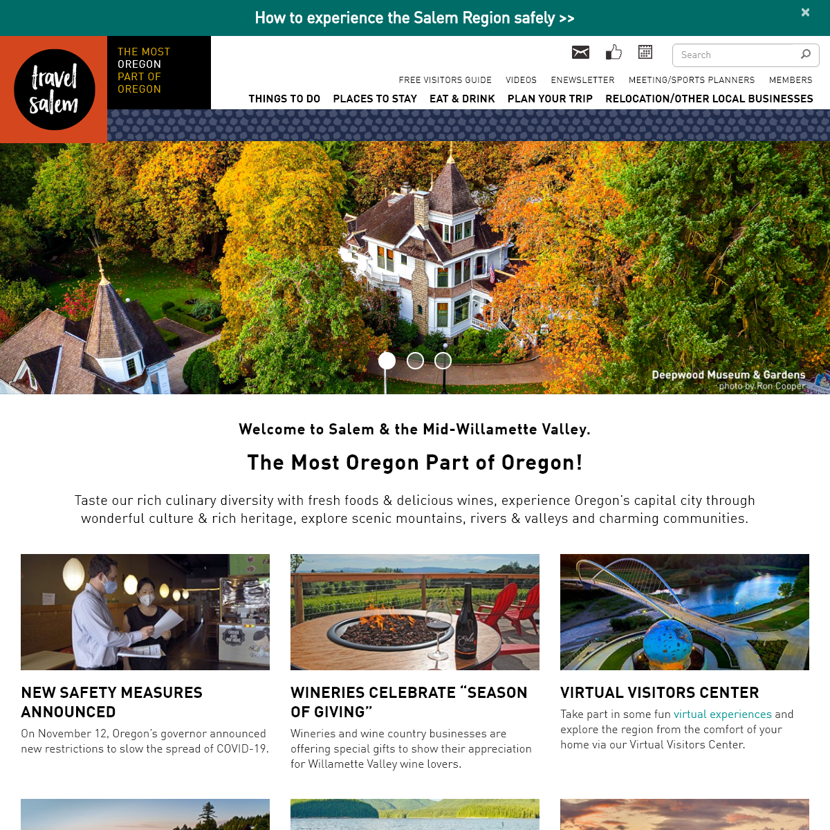 Oregon`s Mid-Willamette Valley - official tourism information for visitors