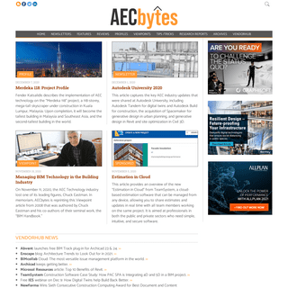 AECbytes- Analysis, Research, and Reviews of AEC Technology