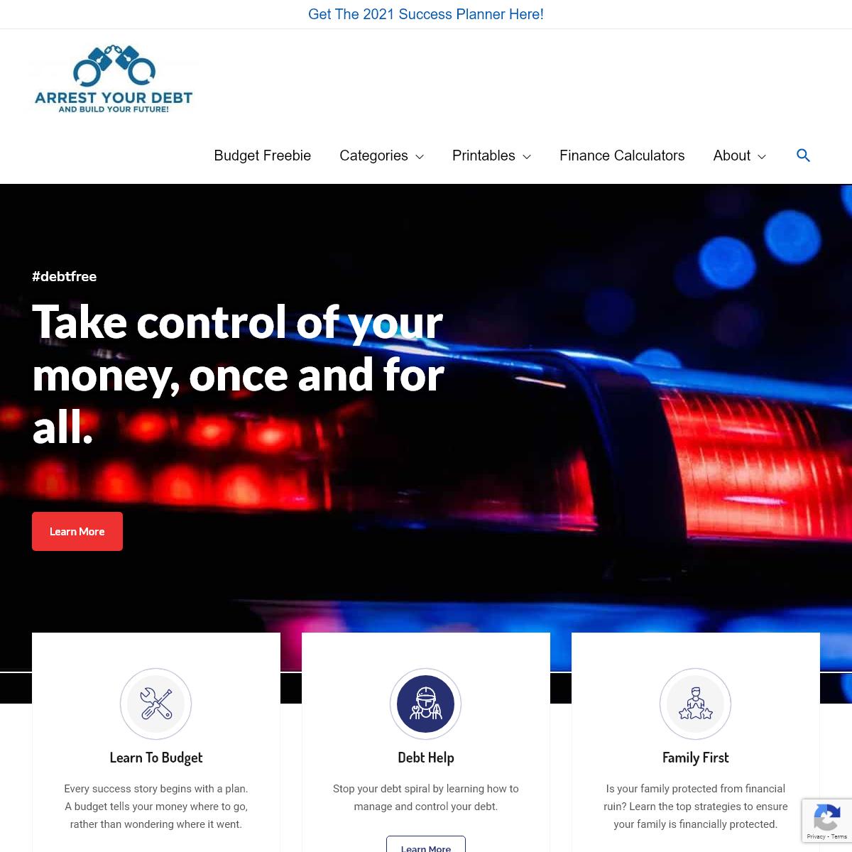 Homepage - Arrest Your Debt