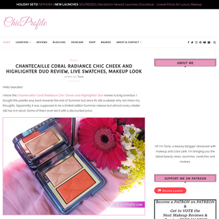 Beauty Trends and Latest Makeup Collections - Chic Profile -
