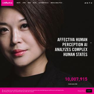 Affectiva - Humanizing Technology - Affectiva