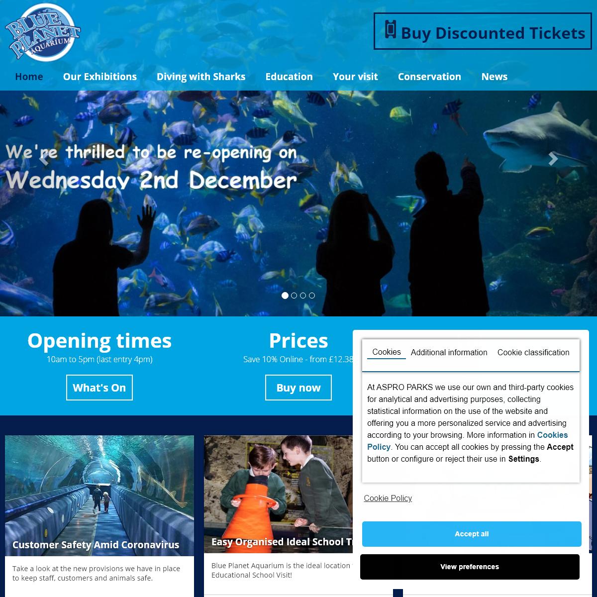 Blue Planet Aquarium -