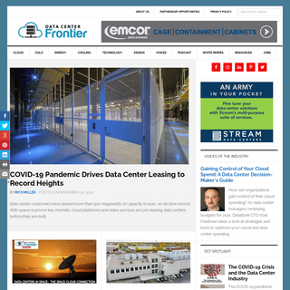 Data Center Frontier • Charting the future of data centers and cloud computing.