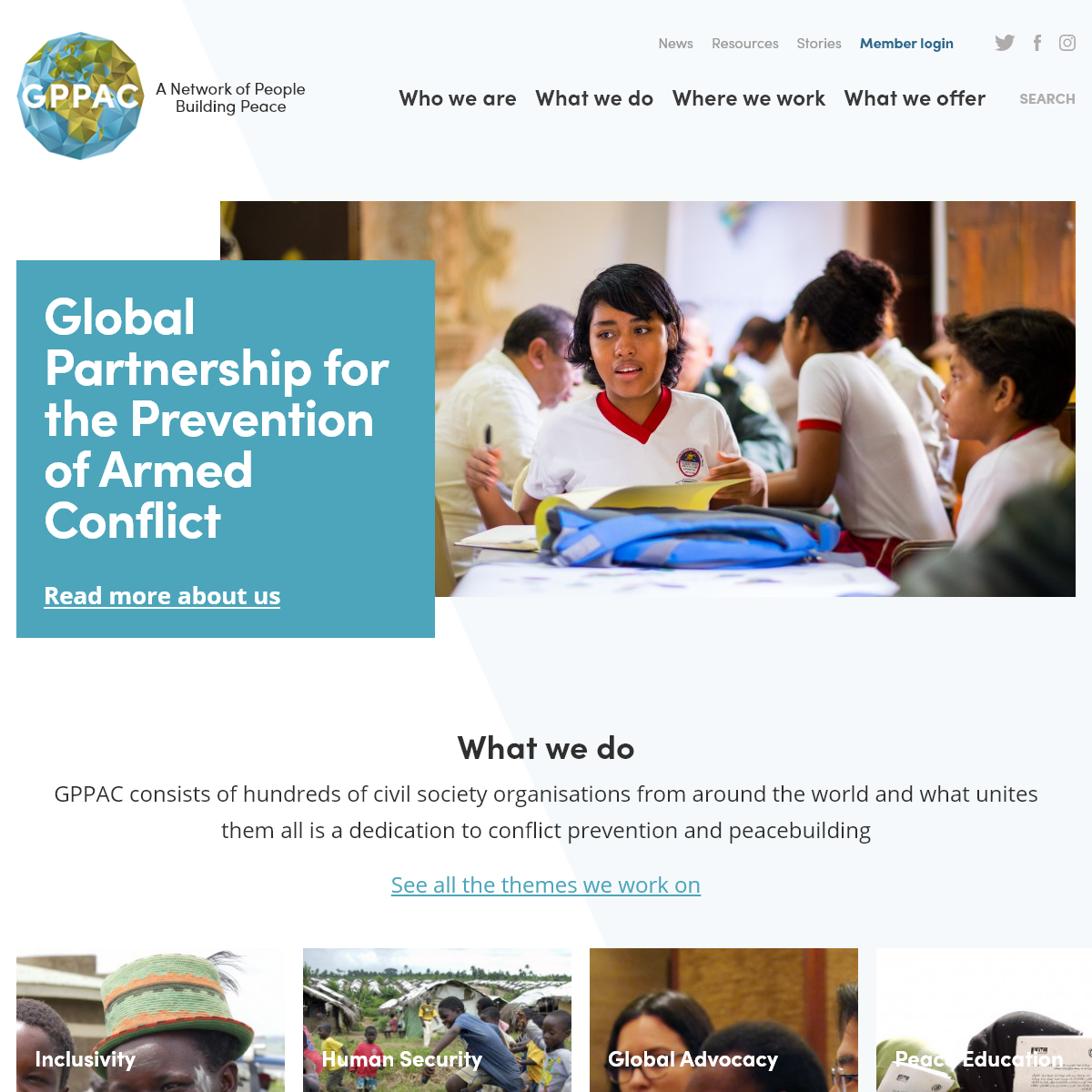 GPPAC - Prevention of Armed Conflict - Peacebuilding Network