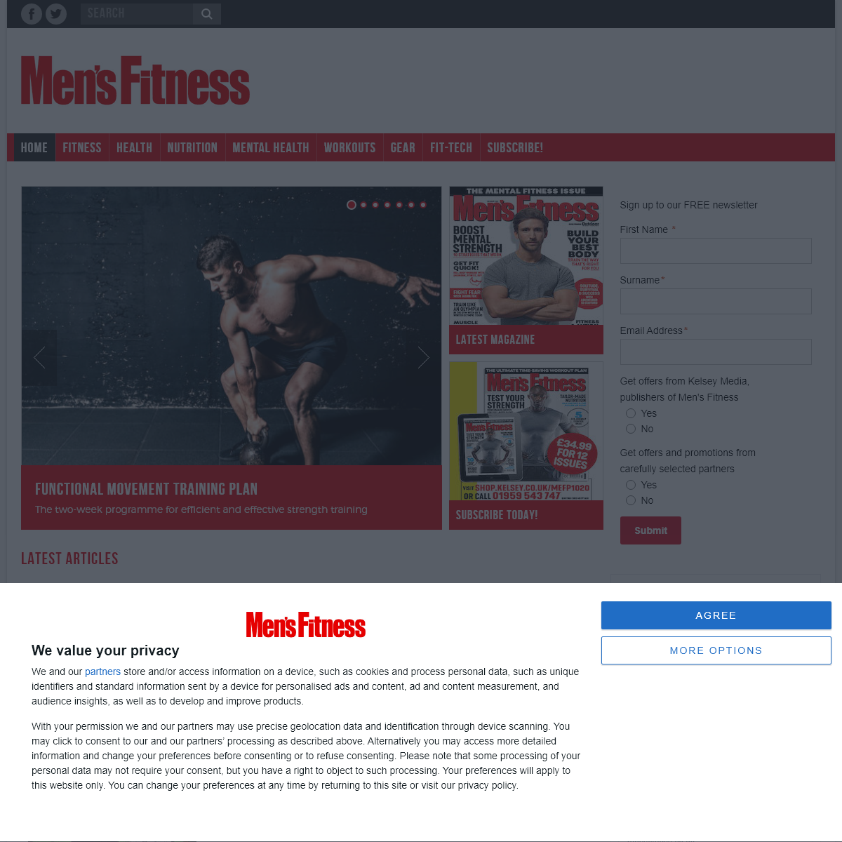 Home – Men`s Fitness UK