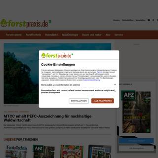 Forst-Nachrichten für Waldbesitzer & Förster - forstpraxis.de