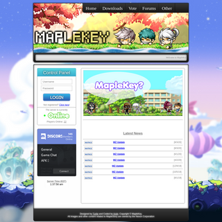 MapleKey v83 - A MapleStory Private Server