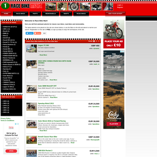 Race Bike Mart - Classic Race Motorcycles For Sale