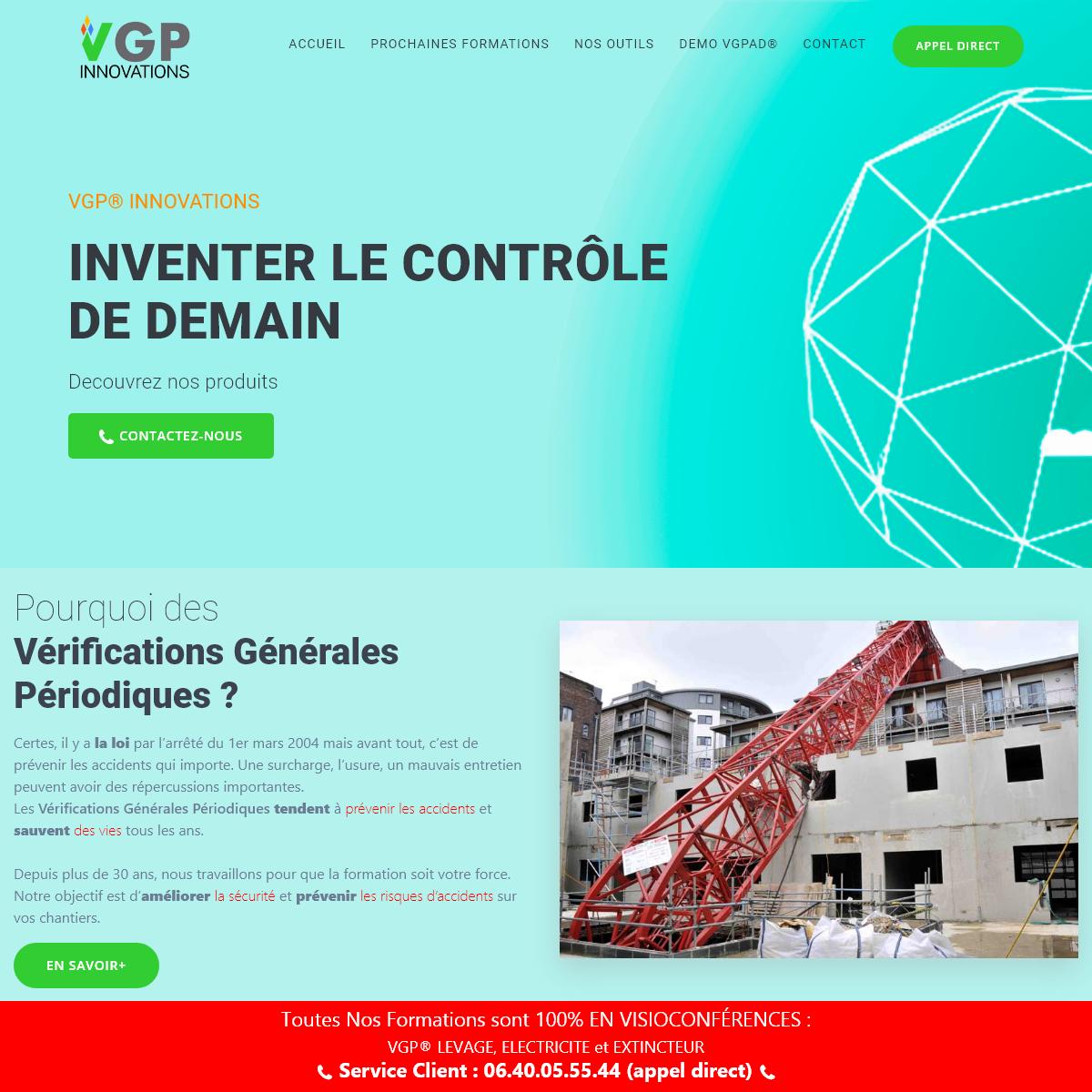 VGP® INNOVATIONS - Notre Formation est Votre Force
