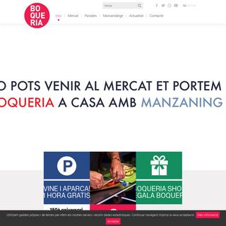Mercat Boqueria Barcelona - Mercat de les Rambles