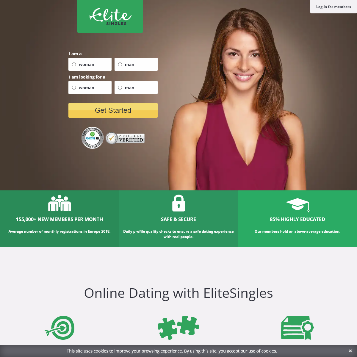 EliteSingles - One of the UK`s best dating sites for educated singles