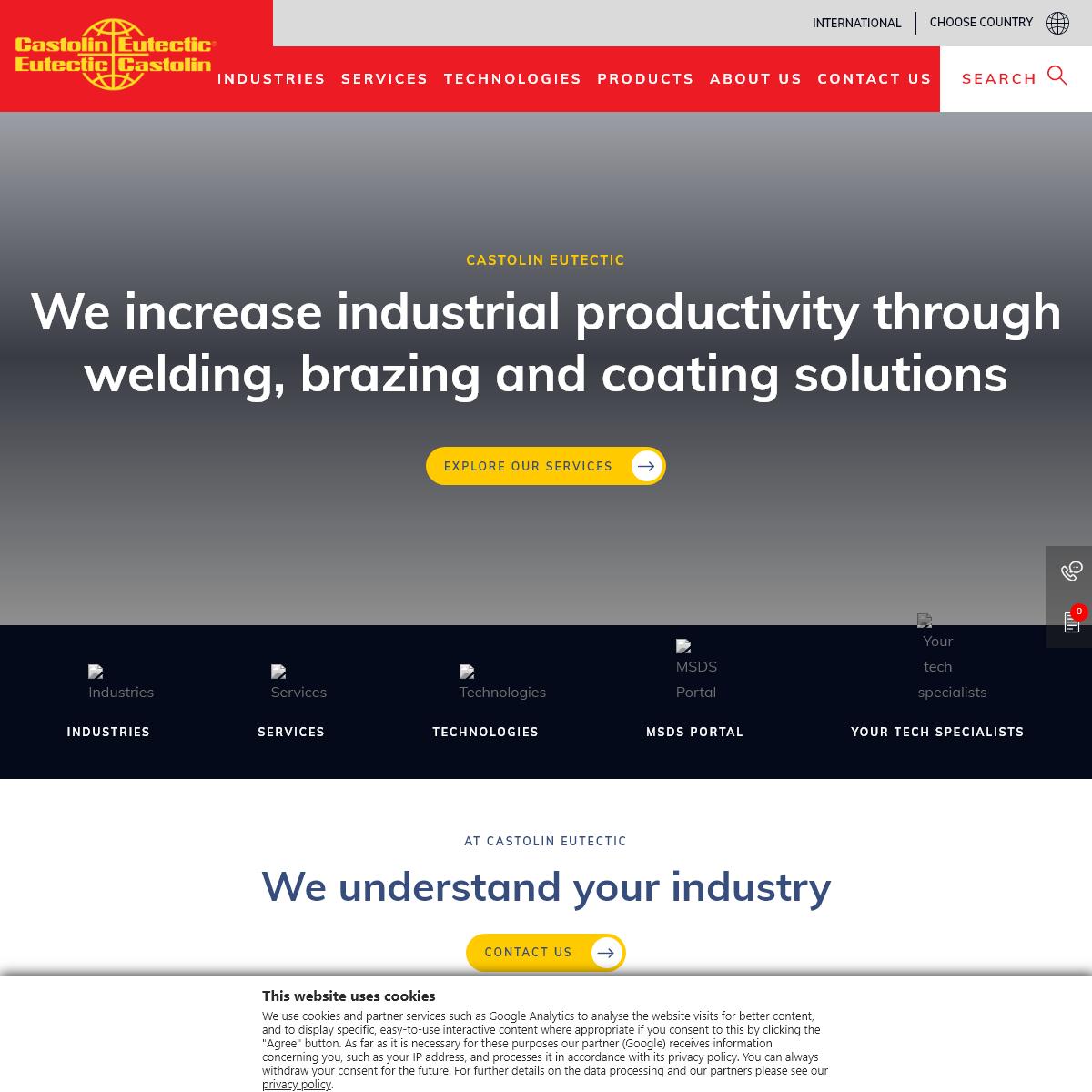 Welding, brazing and coating solutions, wearplates - Castolin Eutectic