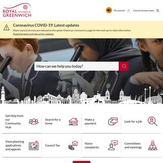 Homepage - Royal Borough of Greenwich