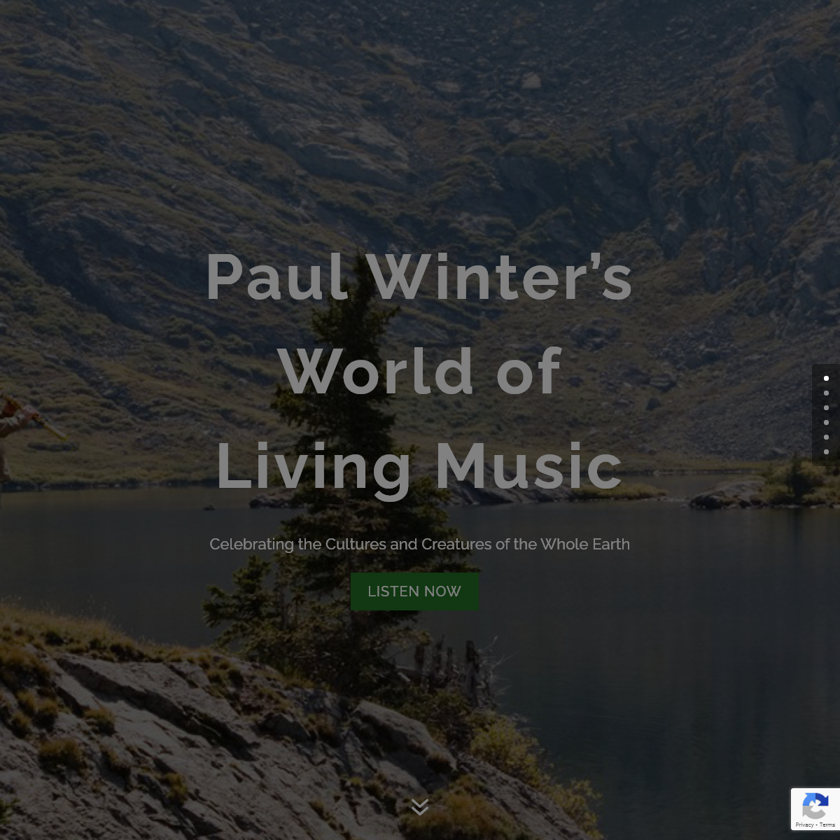 Paul Winter - Musician and Bandleader