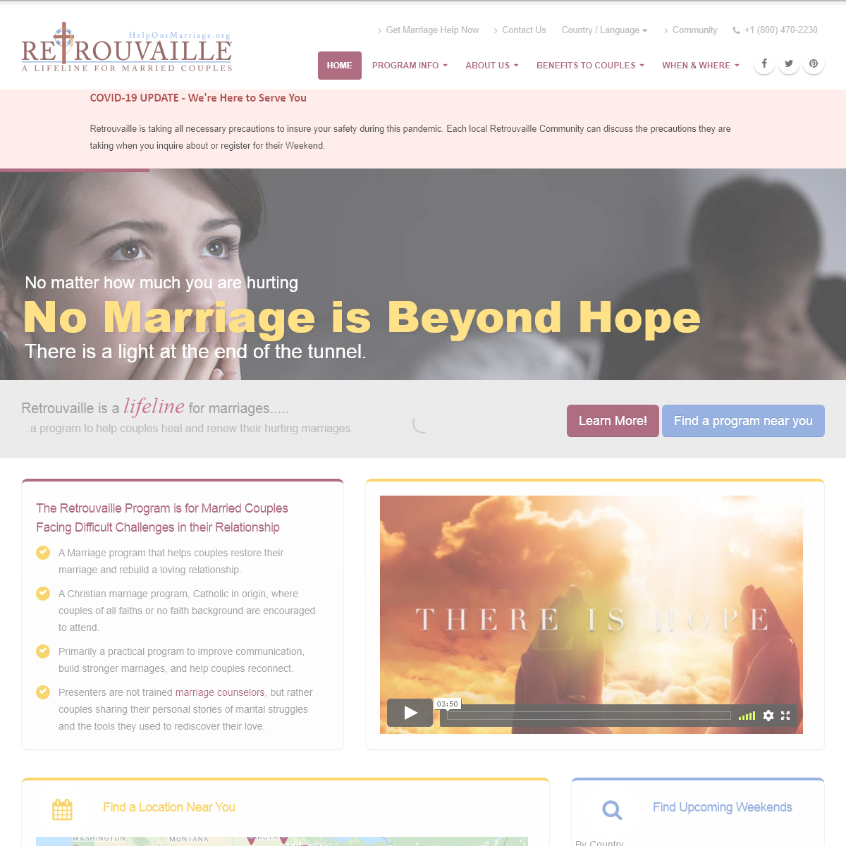 Retrouvaille Marriage Help Program For Struggling Couples