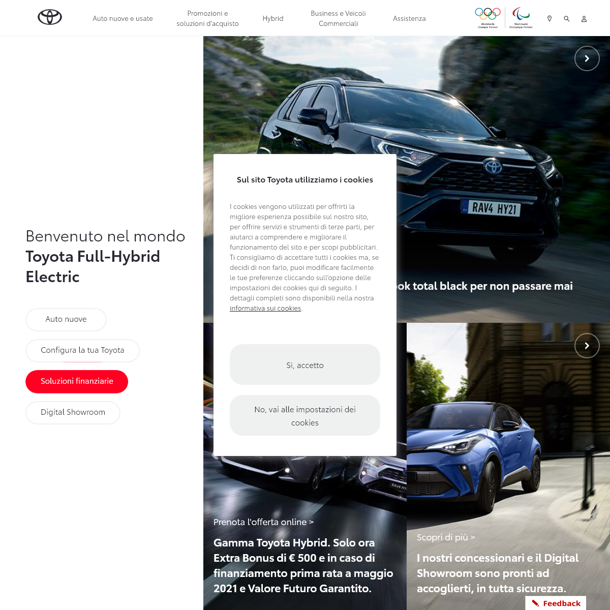 Toyota Motor Italia - Benvenuti sul Sito Ufficiale