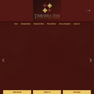 Timbarra Thai - A taste of Chiang Mai Province here in Melbourne`s south east.