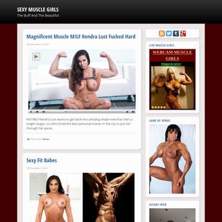 A complete backup of sexymusclegirls.com